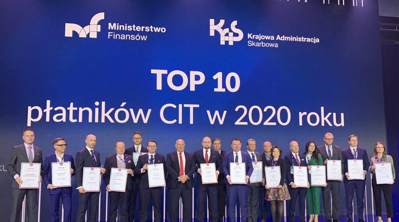 Firmy członkowskie POHiD w gronie największych płatników CIT 2020